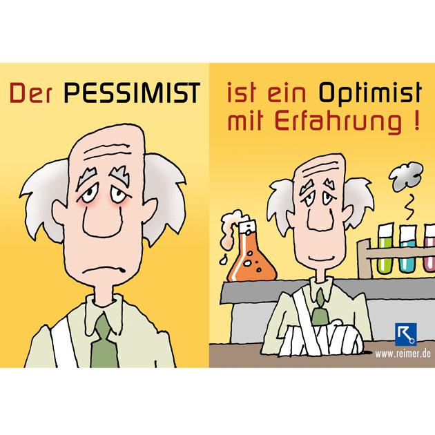 Optimist - MotivationskarteReimer Systemhaus
