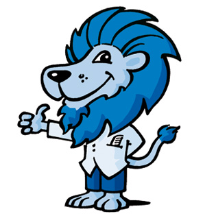 Lion Hair - Maskottchen für Friseur-Bedarf