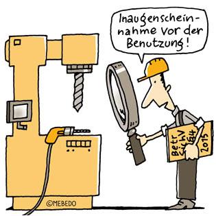 Arbeitsmittelprüfung - MEBEDO GmbH
